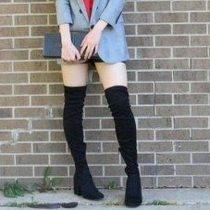 DV by Dolce Vita Over the Knee Block Heel Boots
